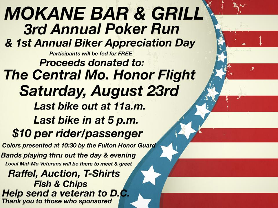 Mokane Bar Flyer